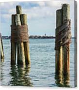 Boston's Harbor Canvas Print