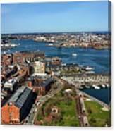 Boston's North End Canvas Print