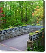 Botanical Bridge Canvas Print