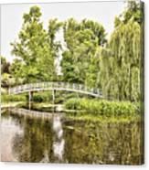 Botanical Bridge - Van Gogh Canvas Print