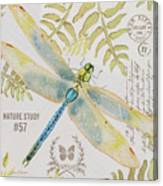 Botanical Dragonfly-jp3418b Canvas Print