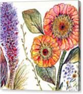 Botanical Flower-49 Canvas Print