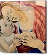Botticelli's Madonna Canvas Print