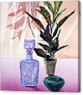 Bottle Edge Canvas Print