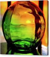 Bottle Of Sunlight Canvas Print