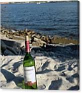 Bottled Beach Canvas Print