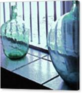 Bottles Still Life Canvas Print