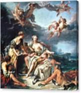 Boucher: Abduction/europa Canvas Print