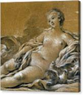 Boucher: Venus Canvas Print