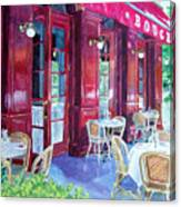 Bouchon Restaurant Outside Dining Canvas Print