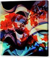 Bougainvillea At Joe's Secret Garden IIi Canvas Print
