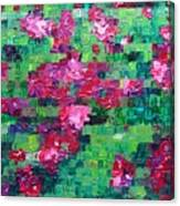 Bouganvillea - Tiled Canvas Print