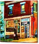 Boulangerie Cachere Canvas Print