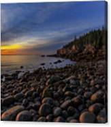 Boulder Beach Sunrise Canvas Print