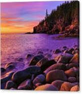 Boulder Beach Sunrise Canvas Print