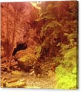 Boulder Cave  Canvas Print