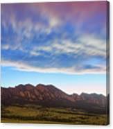 Boulder Colorado Dreaming Canvas Print