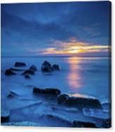 Boulder Point Sunrise Canvas Print