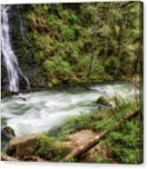 Boulder River Canvas Print