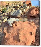 Boulders Above Camprground Canvas Print