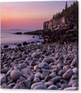 Boulders At Dawn - Vertical Canvas Print