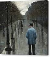 Boulevard Des Batignolles Canvas Print