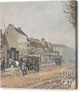 Boulevard H?lo?se, Argenteuil Canvas Print