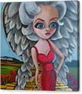 Boulevard Of Broken Wings Canvas Print