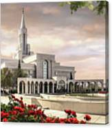 Bountiful Temple Canvas Print