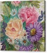 Bouquet 2 Canvas Print