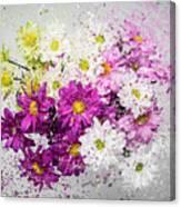 Bouquet Boom Canvas Print