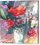 Bouquet De Chez Moi 01 Canvas Print