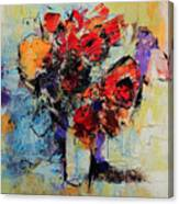 Bouquet De Couleurs Canvas Print
