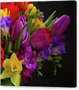 Floral Dance Canvas Print