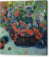 Bouquet Of Flowers Canvas Print