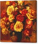 Bouquet Of Roses 1 Canvas Print