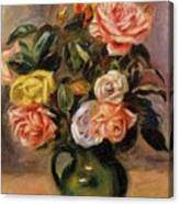 Bouquet Of Roses 2 Canvas Print