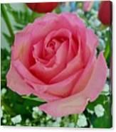 Bouquet Rose Canvas Print