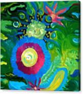 Bouquet Tropical Canvas Print