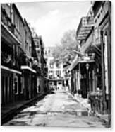 Bourbon Alley Canvas Print