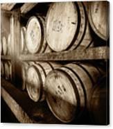 Bourbon Barrels Canvas Print