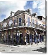 Bourbon Pub Pride Canvas Print
