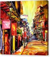 Bourbon Street Dazzle Canvas Print