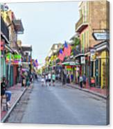 Bourbon Street - New Orleans Louisianna Canvas Print