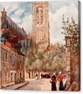 Bourges Canvas Print