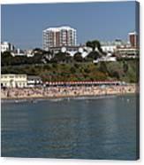 Bournemouth Beaches Canvas Print