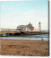 Bournemouth Pier No 2 Canvas Print