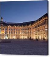 Bourse Square, Bordeaux Canvas Print