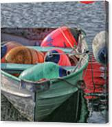 Bouys In A Boat Canvas Print