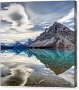 Bow Lake Sky Canvas Print